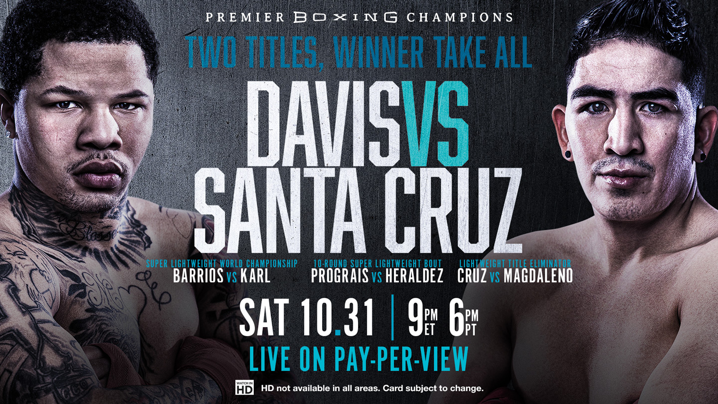 Boxing: Davis vs Santa Cruz